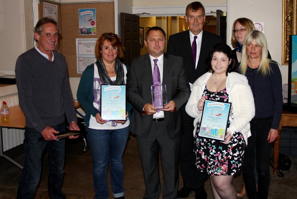 Members honoured at Learning Disability Partnership Awards