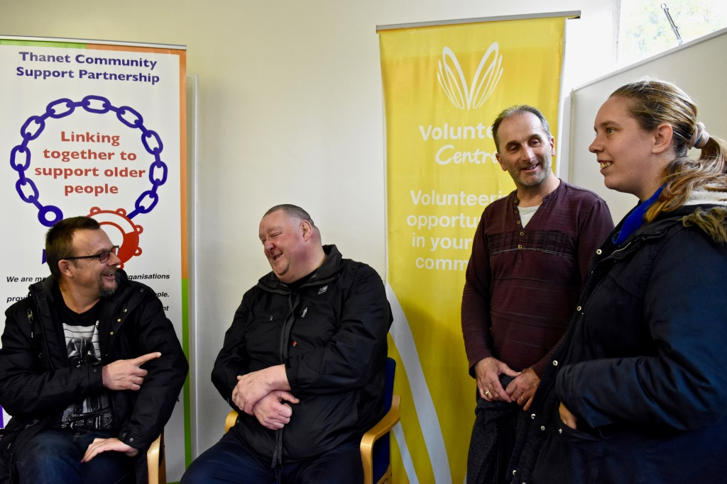 gold-teams-up-with-thanet-volunteer-bureau