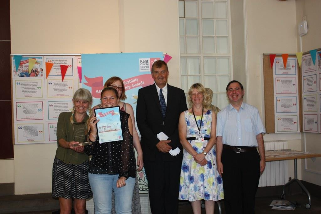 member-is-honoured-at-learning-disability-partnership-awards