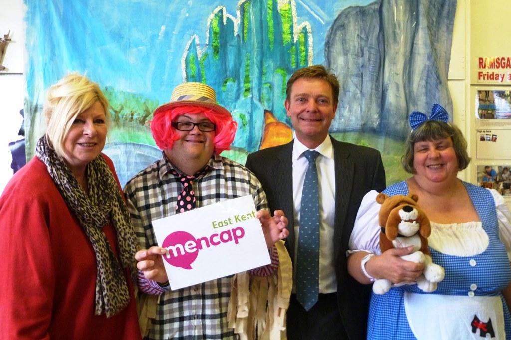 MP congratulates East Kent Mencap on Lottery success
