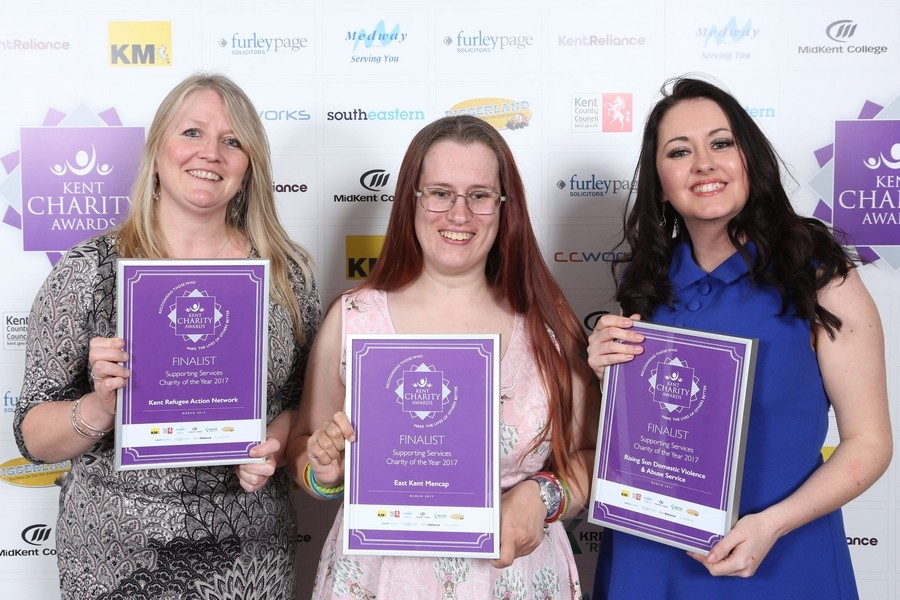 Members attend Kent Charity Awards ceremony